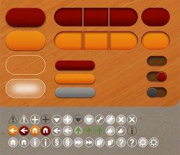 Skat UI/UX Design Icons GUI