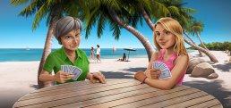 Skat UI/UX Design & Illustration Spielszene