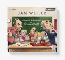 Hörbuchtitelillustration (Der Hörverlag, 2018)